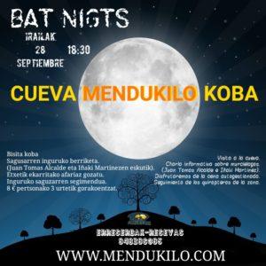 BAT NIGHT- Saguzarren gaua
